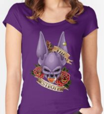The Destroyer Women's Fitted Scoop T-Shirt
