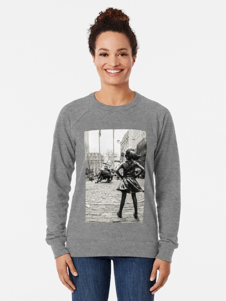 Vista alternativa de Sudadera ligera Fearless Girl & Bull NYC