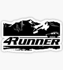 4Runner - Mountains + Vehicle  Sticker