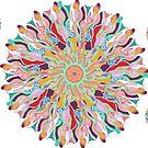 70 Organic Circle Seeds Off Like Dandal Lion at Green Bee Mee by GreenBeeMee