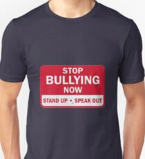 Stop Bullying Now Stand Up Speak Out Unisex T-Shirt