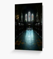 Llangasty Church (St Gastyn's) Greeting Card