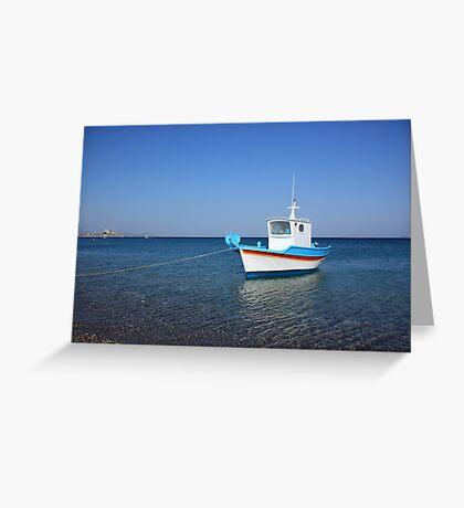 At Kefalos Beach Greeting Card