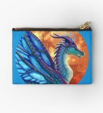 Wings of Fire - Blue Zipper Pouch