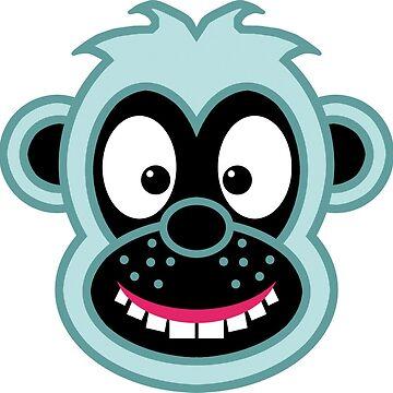 Monkey Magic by tierneyart