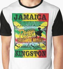 Jamaika Kingston Grafik T-Shirt