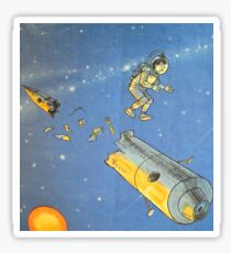 Lost in space 2 Sticker