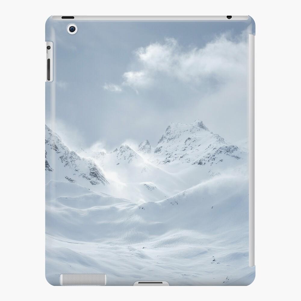 Coque et skin adhésive iPad «J'aime la montagne»