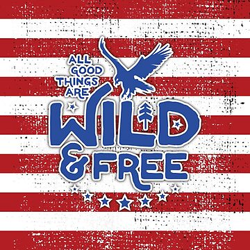 USA - Wild and Free Bag by posay