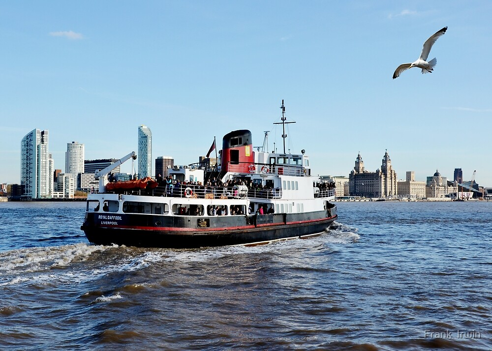 Mersey Ferryboat Royal Daffodil by Frank  Irwin