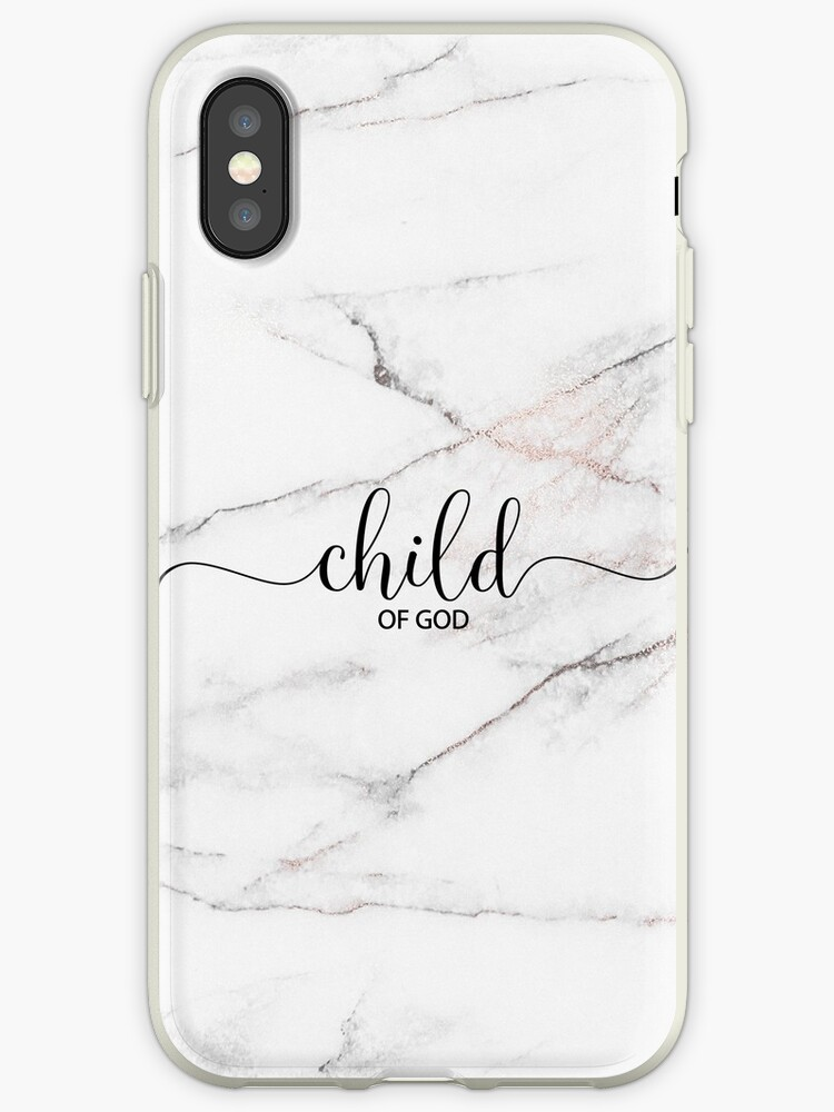 Christian Quote - Child Of God - Marble Stone by ChristianStore