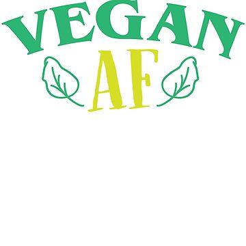 Vegan AF by Design123