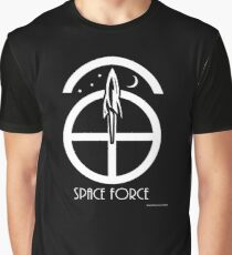 Space Force Abstract Graphic T-Shirt