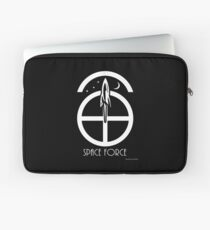 Space Force Abstract Laptop Sleeve