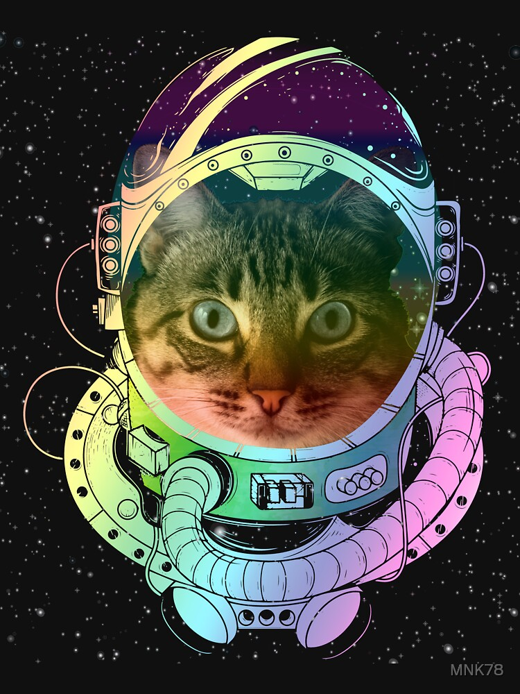 Cat Astronaut Astro Space Cat by MNK78