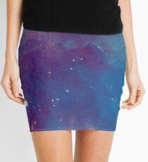 Night sky [watercolor] Mini Skirt