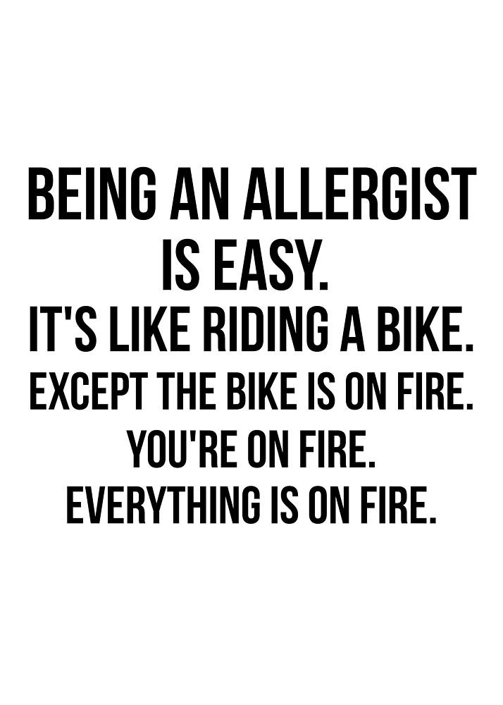 Being An Allergist by Renware