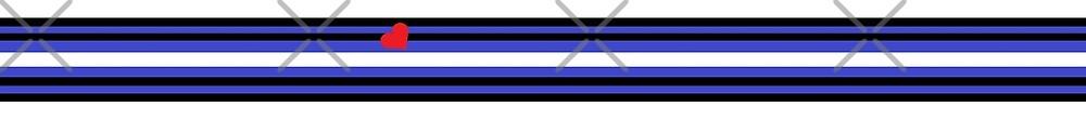 Leather Flag Strip by Riccivela