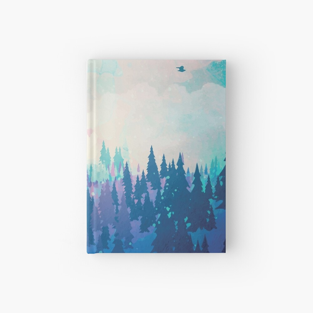 Forest Hardcover Journal