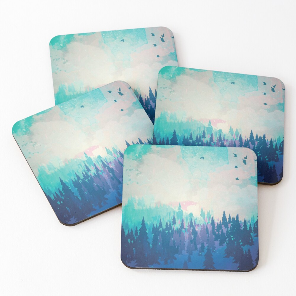 Forest Coasters (Set of 4)
