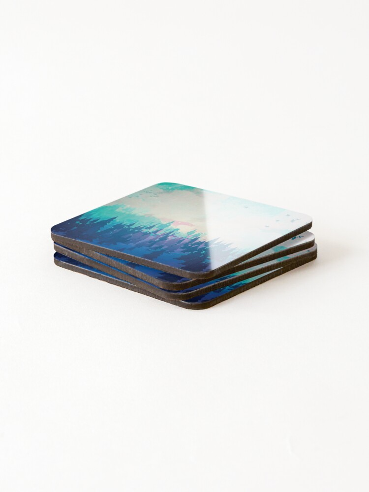 Alternate view of Forest Coasters (Set of 4)