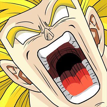 Super Saiyan - Warrior Rage by thewisecarrot
