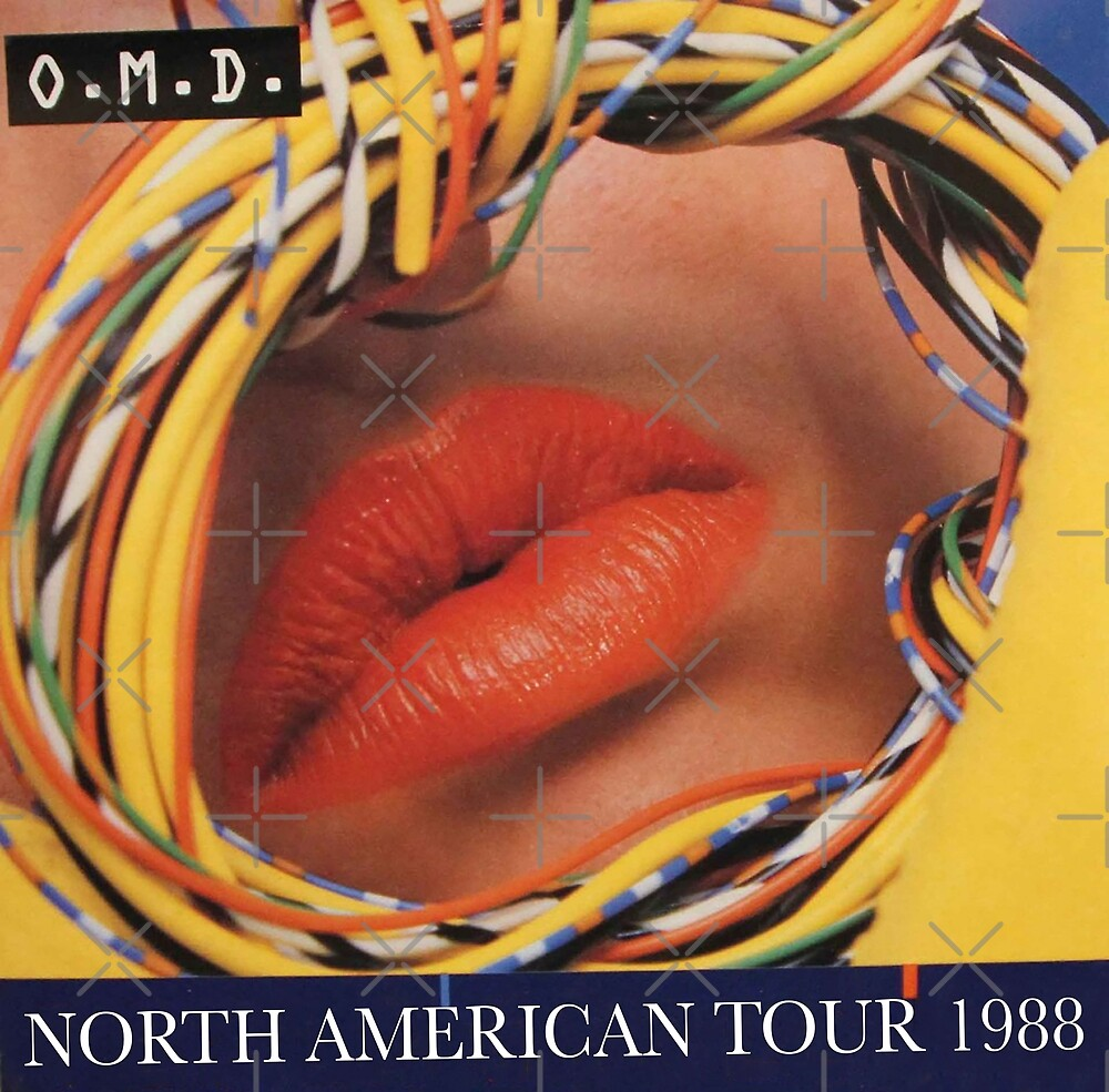 OMD Orchestral Manoeuvres in the Dark - North American Tour 1988 by litmusician