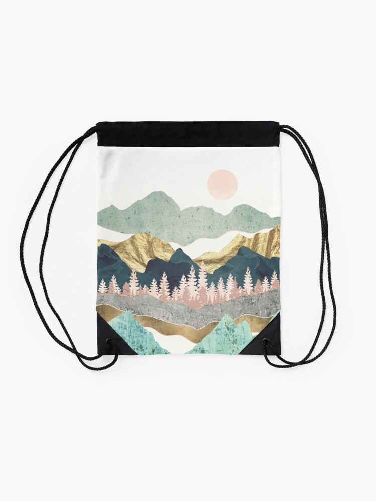 Alternate view of Summer Vista Drawstring Bag