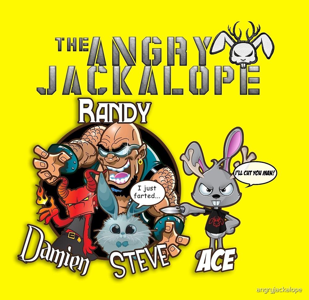 The Jackalope Crew - Throwback!!!! by angryjackalope