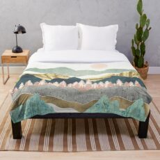 Summer Vista Throw Blanket