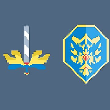 Pixel Sword by Kennythecupcake