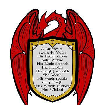A Knight's dragon Heart by KewlZidane