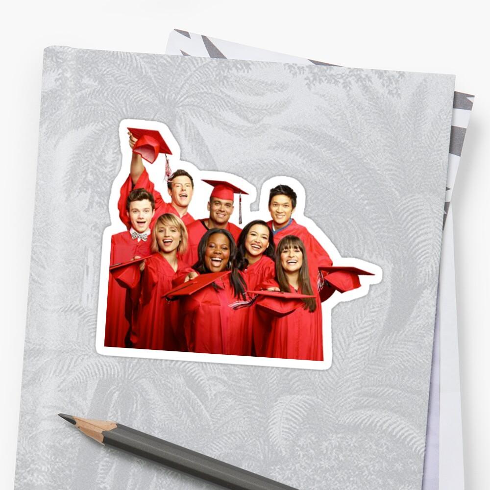 Glee Cast Graduation by ShipsinParadise