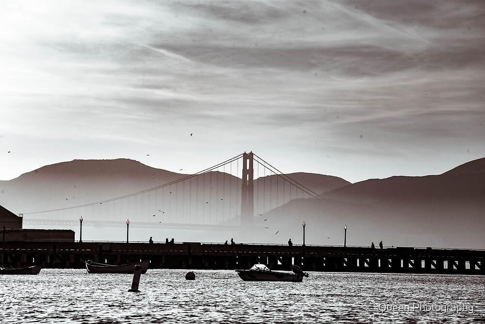 Golden Gate Bridge by Queen Photography