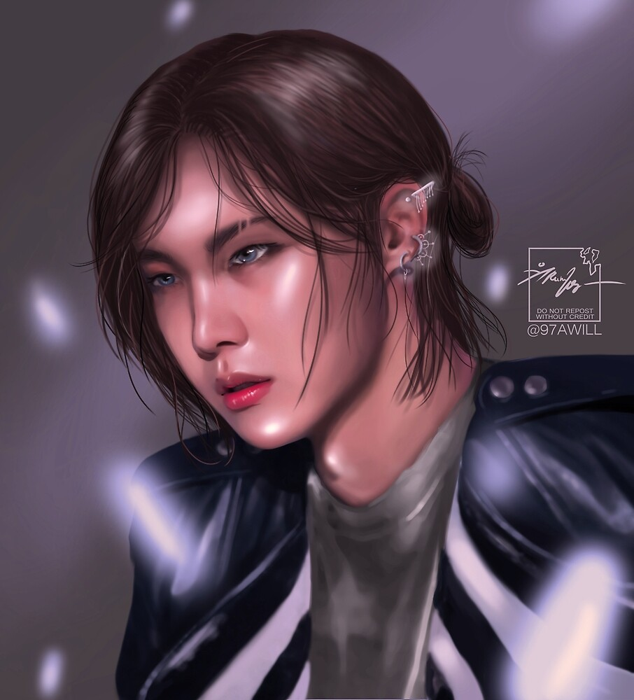 JHOPE MAN BUN by 97awill