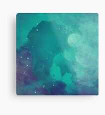 Night sky [watercolor] Metal Print