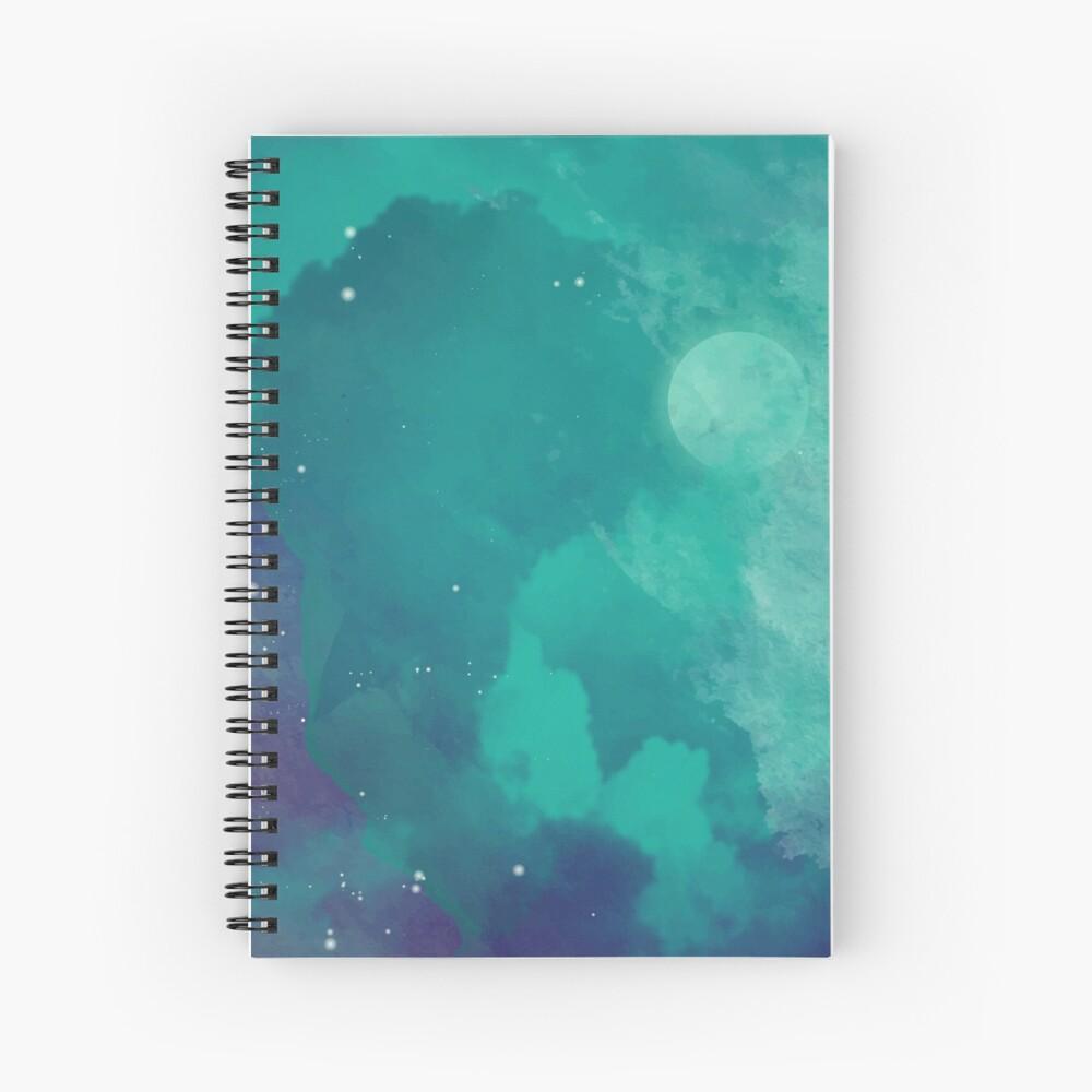 Cielo nocturno [acuarela] Cuaderno de espiral