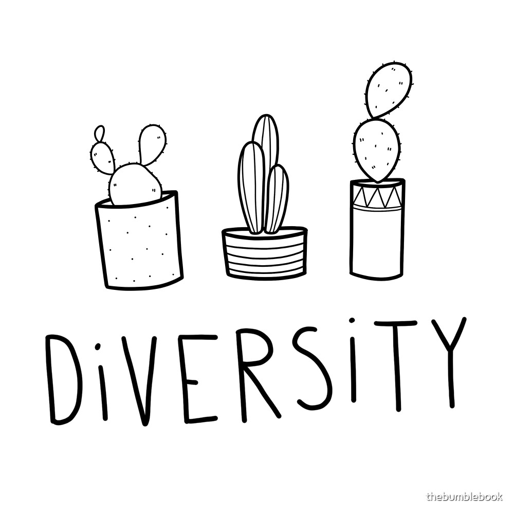 Diversity by thebumblebook