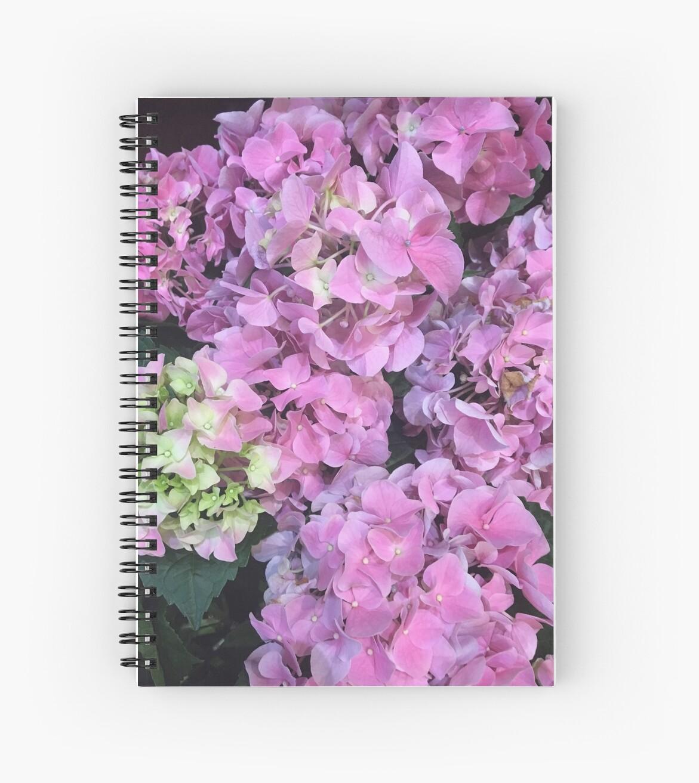 PINK & FUSHIA HYDRANGEA Spring is Here by JanetKnapp