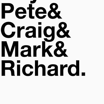 Guy&Pete&Craig&Mark&Richard. by ustinov