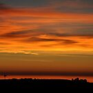 Pacific Ocean Sunset by KirtTisdale