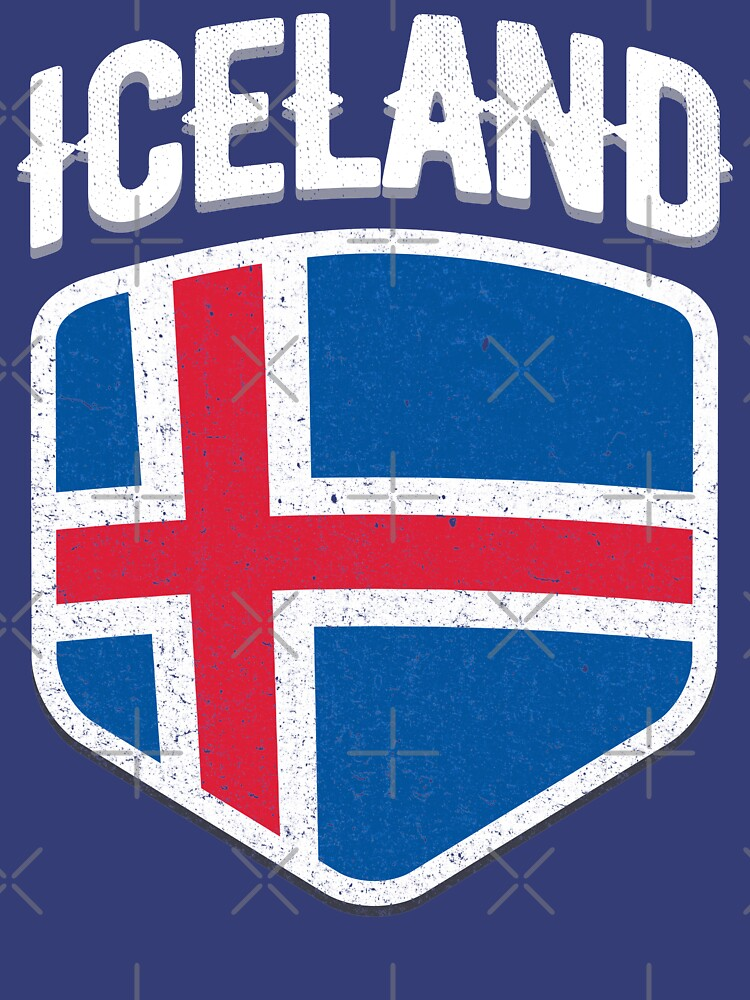 2018 Iceland Soccer World T-shirt Jersey No. 10 Cup T Shirt               by screenworks