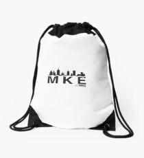 MKE skyline Drawstring Bag