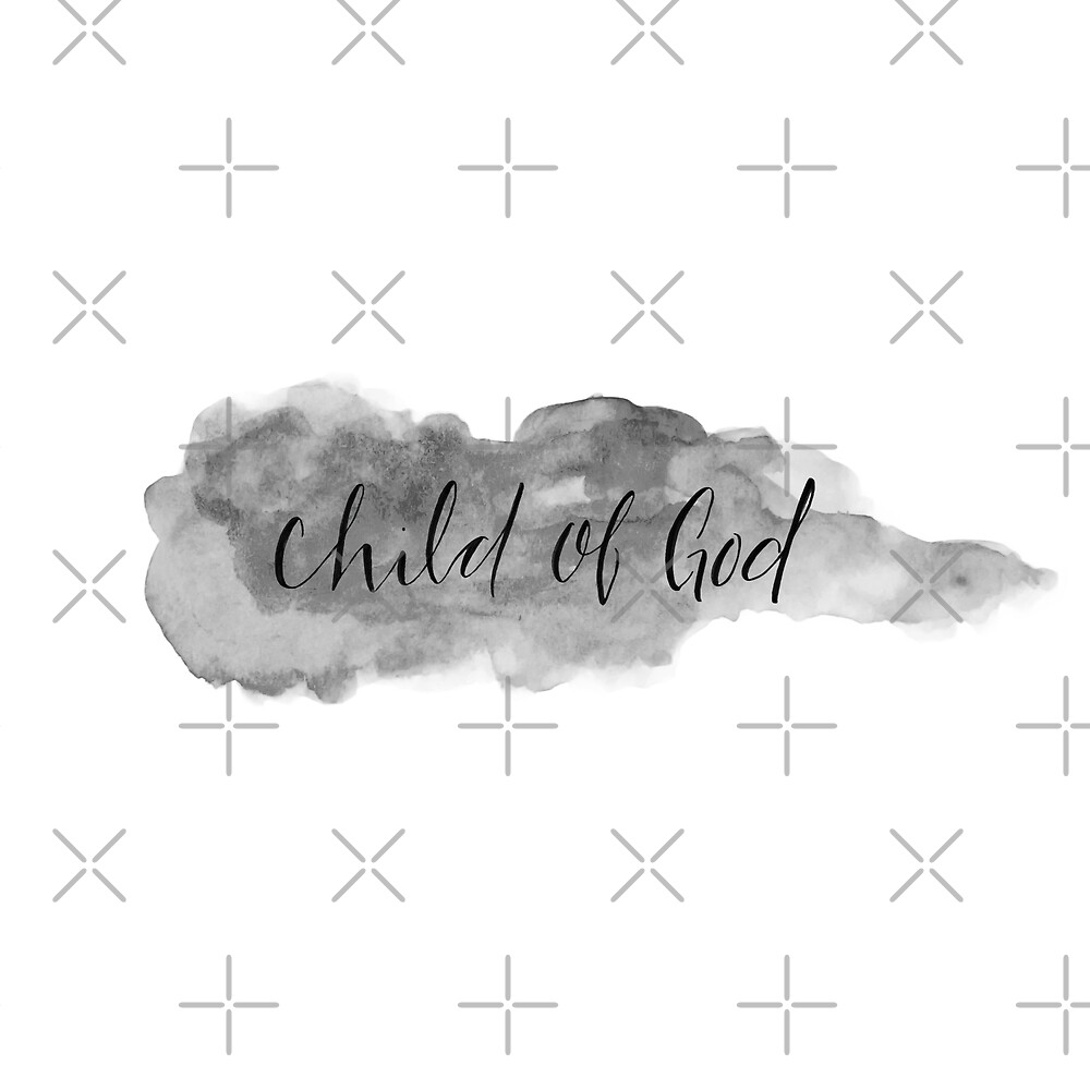 Child of God - Black and White by Danielle-Coquoz