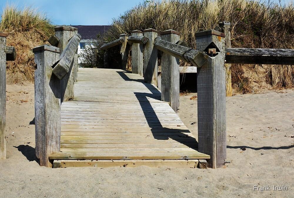 South Beach Pwllheli, North Wales - access by Frank  Irwin