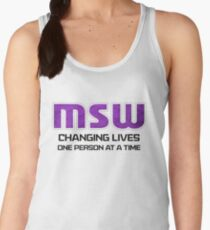 MSW - Changing Lives Women's Tank Top