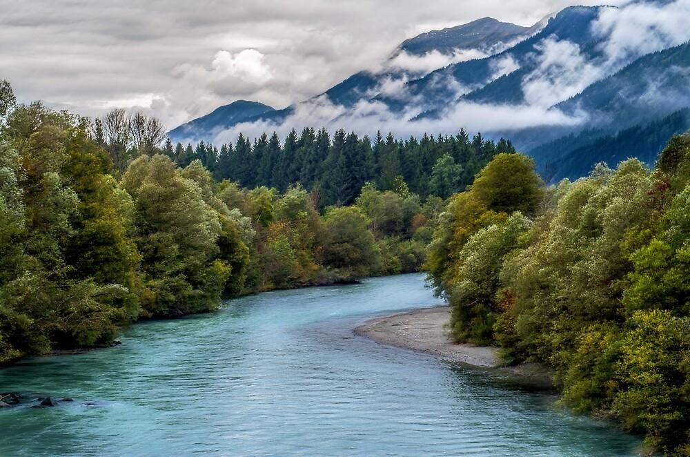Mountain River by Dawn van Doorn