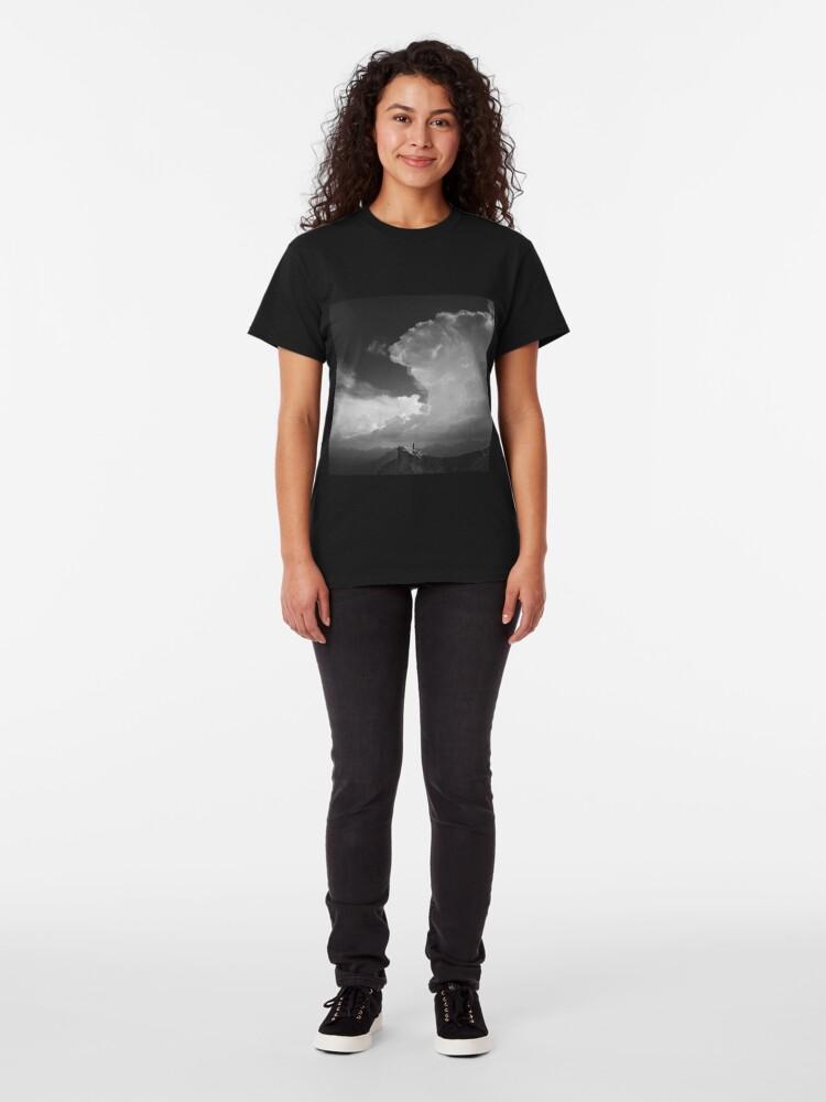 T-shirt classique ''Alone': autre vue