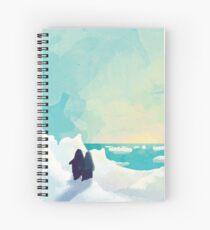 Just be together Spiral Notebook