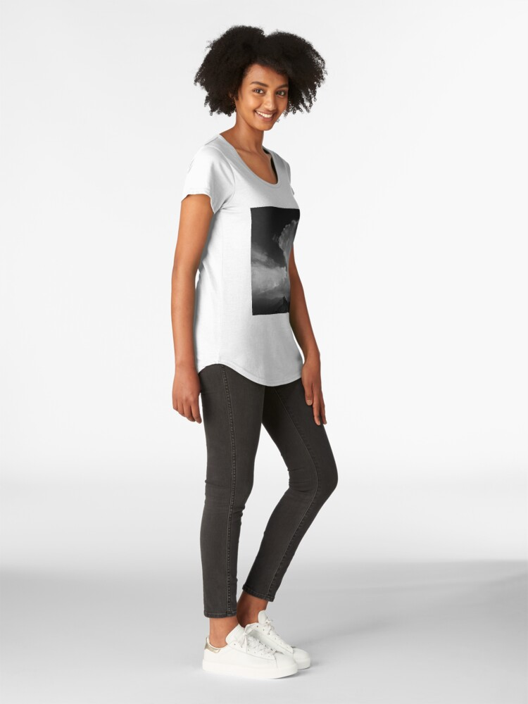 Alternate view of Alone Premium Scoop T-Shirt